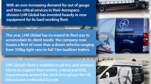 LHR Global Invests in New Equipment